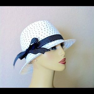 Accessories - Fun and Flirty....Fedora Hat with Ribbon